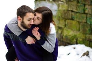 Tu pareja es fría pero necesita tu apoyo y cariño