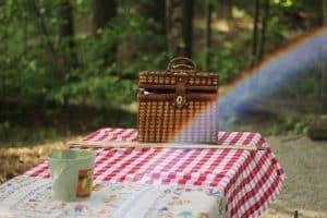 Salir de picnic con tu pareja es un plan muy romántico, más aún si es 14 de febrero.