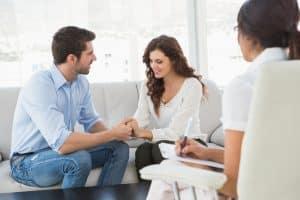 Terapia de pareja: hablando de los problemas