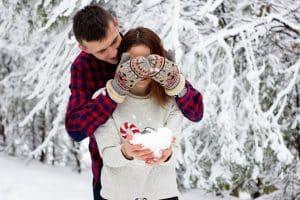 Planes románticos para navidad