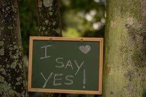 Frases para pedirle matrimonio a mi hombre amado