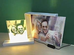 Lámpara personalizada para regalarle a tu novio