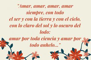 Poesía para enamorar