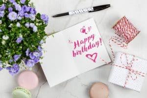 Elige la mejor frase para desearle un feliz cumpleaños